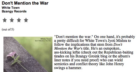 Aversion.com review of 'Don't Mention The War'